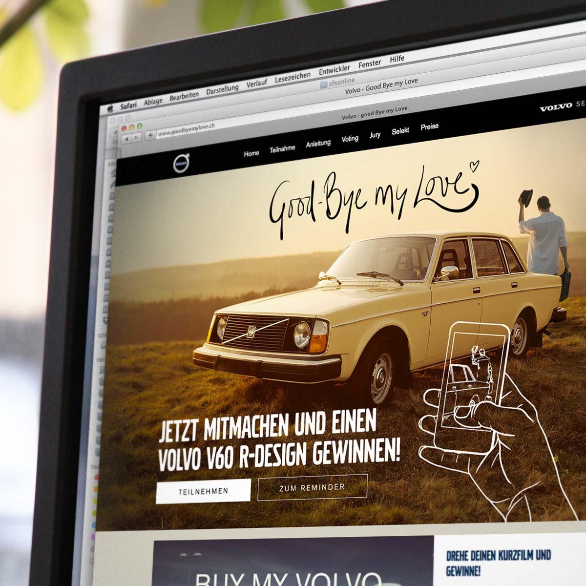 Grafikdesign Referenz Volvo / The Relevent Collective