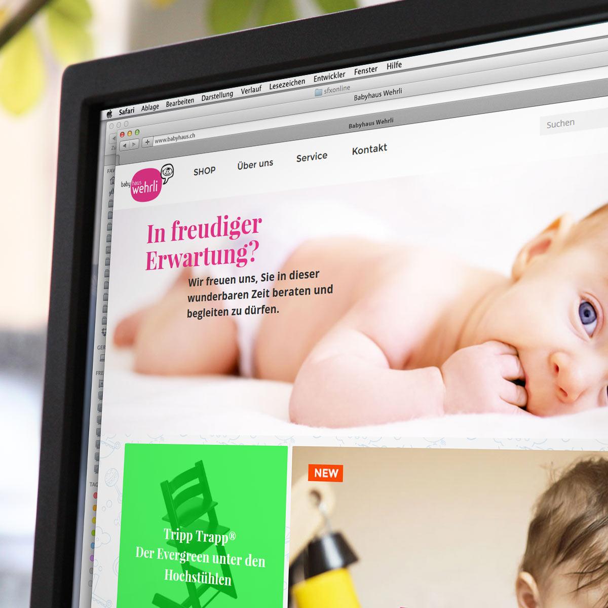 JTL Shop Referenz babyhaus.ch
