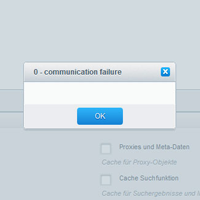 0 - Communication Failure