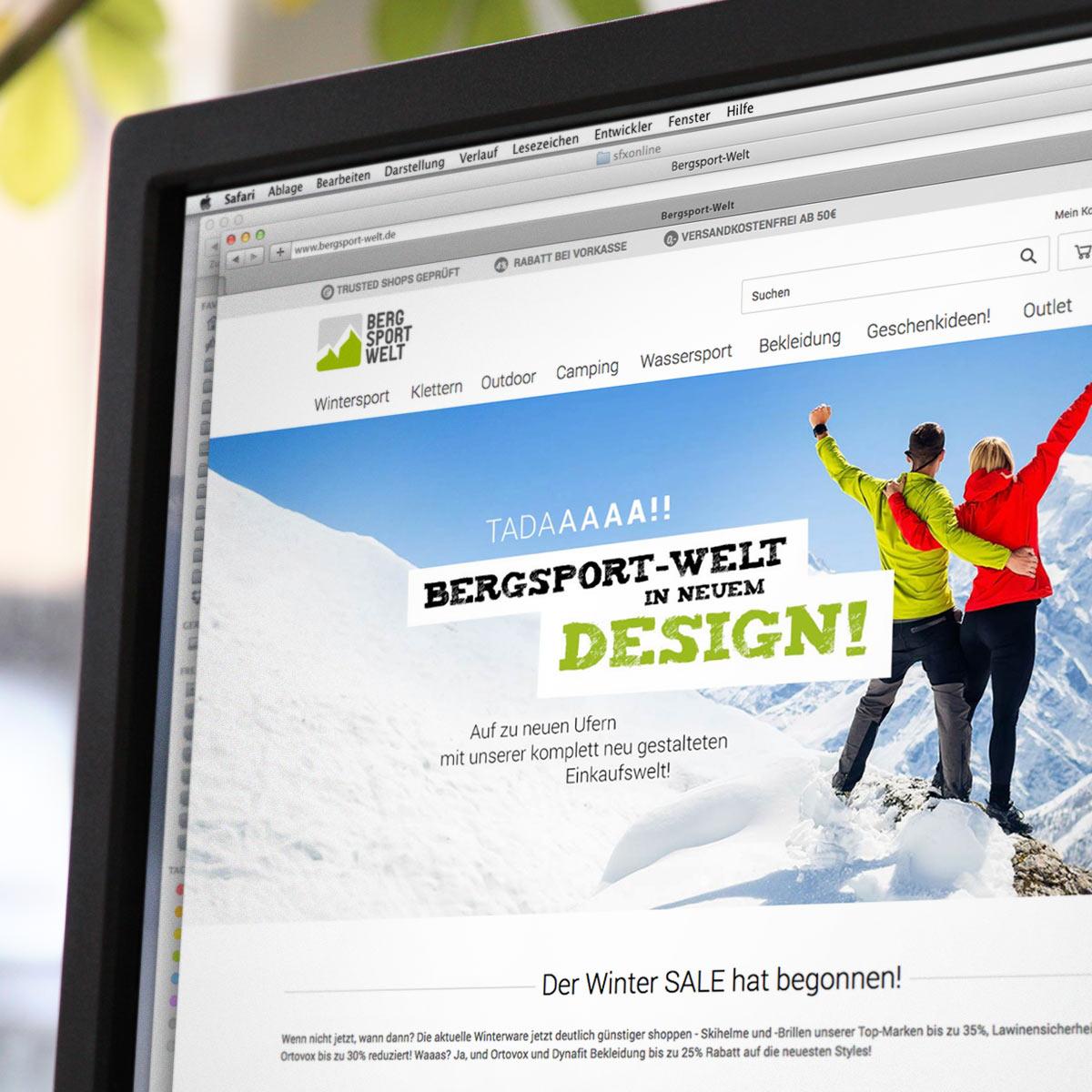 JTL Shop Referenz Bergsport Welt