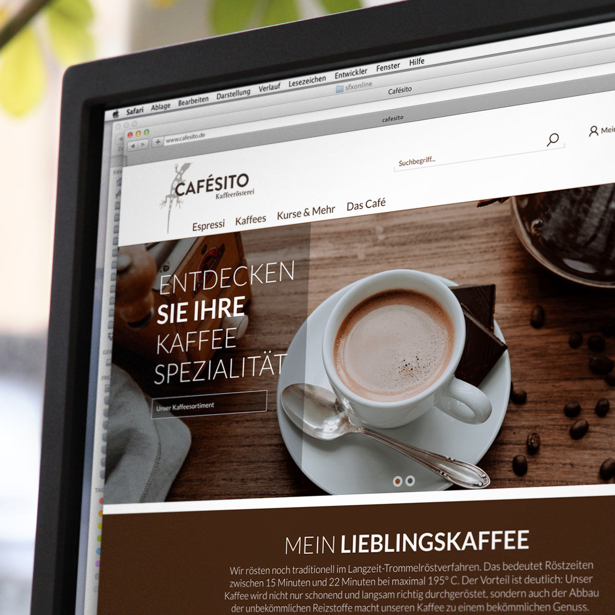 Shopware Referenz Cafesito.de